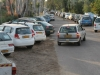 The Solar Garden community parking