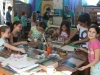 The Solar Garden Community Painting Workshop