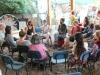 Community activity at The Solar Garden